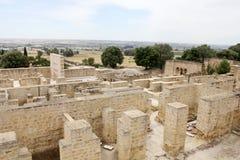 Overview of Madinat al-Zahra in Cordoba Royalty Free Stock Photo