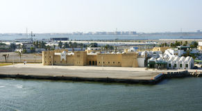 Overview the Maritime Station of La Goulette. Tunisia, North Africa Stock Images