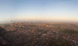 Overview of melbourne Royalty Free Stock Photography