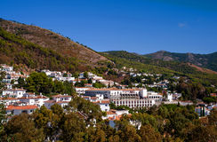 Overview of Mijas village Royalty Free Stock Photography