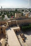 Overview of monastir from the ribat Stock Photo