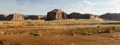 Overview of Monument Valley Royalty Free Stock Photos