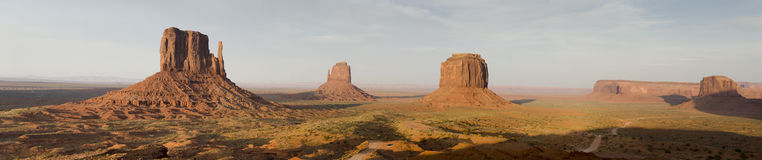 Overview of Monument Valley Royalty Free Stock Photography