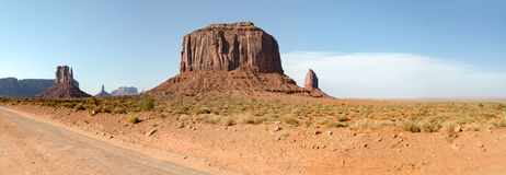 Overview in Monument Valley Royalty Free Stock Photography