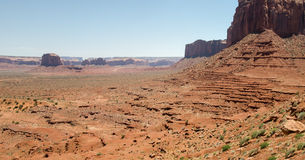 Overview in Monument Valley Royalty Free Stock Images