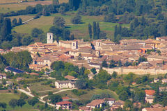 Overview of Norcia in Italy Stock Image