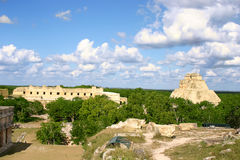 Overview Of Mayan Site Stock Photos