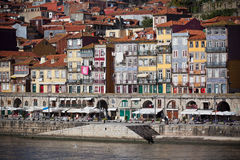 Overview of Old Town of Porto, Portugal Stock Images