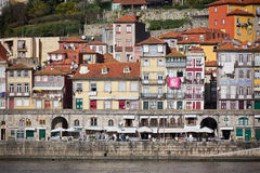 Overview of Old Town of Porto, Portugal Royalty Free Stock Photos