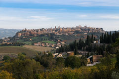 Overview of Orvieto Royalty Free Stock Image