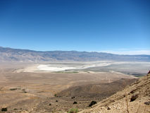 Overview of Owens Valley, California, USA Stock Photography