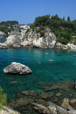 Overview on Parga Greece. Overview on Parga Epirus Greece Stock Image