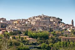Overview of Perugia, Italy Stock Photography