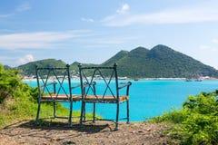 Overview of Philipsburg Sint Maarten royalty free stock images