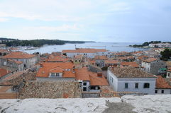 Overview of Porec city in Croatia Royalty Free Stock Photo