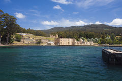Overview Port Arthur Penitentiary Site Royalty Free Stock Photo