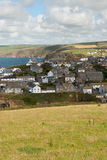Overview in Port Isaac Stock Photos