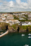 Overview in Port Isaac Stock Photo