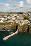 Overview in Port Isaac Stock Images