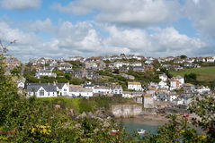 Overview in Port Isaac Royalty Free Stock Photography