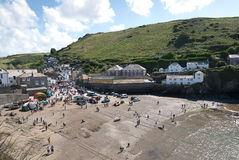 Overview in Port Isaac Royalty Free Stock Photos