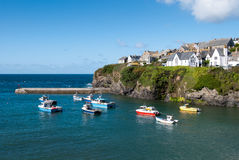 Overview in Port Isaac Stock Photography