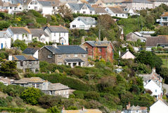 Overview in Port Isaac Royalty Free Stock Photo