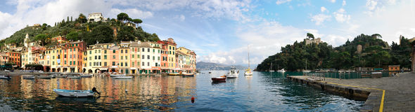 Overview of Portofino Stock Photography