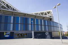 Overview of RCD Espanyol stadium Royalty Free Stock Photography