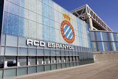 Overview RCD Espanyol stadium, Barcelona Royalty Free Stock Image