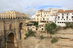 Overview of Ronda, Spain Stock Image