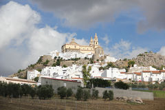 Overview of Ronda, Spain Royalty Free Stock Photo