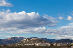 Overview of Sagunto Royalty Free Stock Images