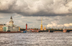 Overview of Saint Petersburg Royalty Free Stock Photos