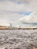 Overview of Saint Petersburg Stock Photo