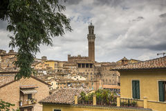 Overview of Siena, Italy Stock Image