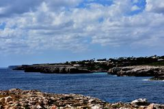 South coast of Menorca stock image