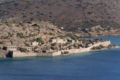 Spinalonga Island Crete, Geece Royalty Free Stock Photo