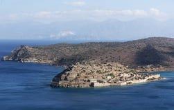 Spinalonga Island Crete, Geece Stock Image