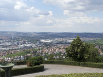 Overview of Stuttgart, Germany Royalty Free Stock Photography