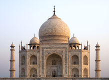 Overview of the Taj Mahal. Agra, India Royalty Free Stock Photo