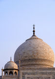 Overview of the Taj Mahal. Agra, India Stock Photo