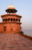 Overview of the Taj Mahal fort. Agra, India Stock Photo