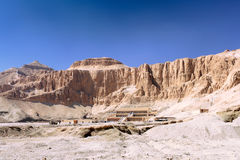 Overview Temple of Queen Hatshepsut at Luxor . Stock Photography