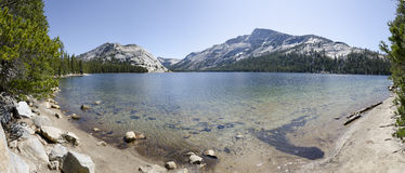 Overview of Tenaya Lake Royalty Free Stock Images