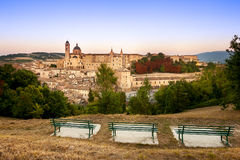 Overview Urbino Stock Images