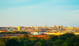 Overview of Vienna, Austria Royalty Free Stock Photography