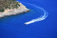 Overview on Zakynthos island Royalty Free Stock Photo