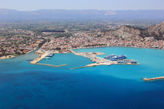 Overview on Zakynthos island Royalty Free Stock Photography