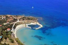 Overview on Zakynthos island Royalty Free Stock Photos